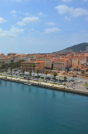 Ajaccio cruise destination
