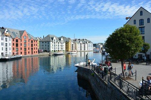 Art Nouveau in Alesund - Norway