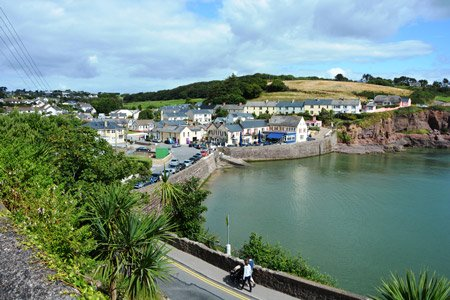 Cruise destination Dunmore East in Ireland