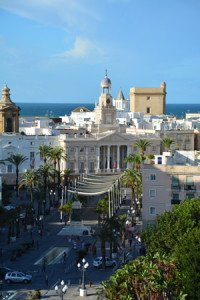 Cruise destination Cadiz