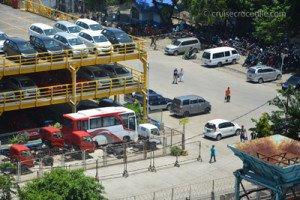 Taxis at the Makassar cruise terminal