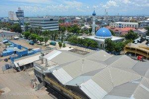 Cruise dock Makassar Indonesia