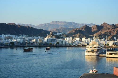 Muscat cruise port