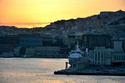 Cruise port Naples
