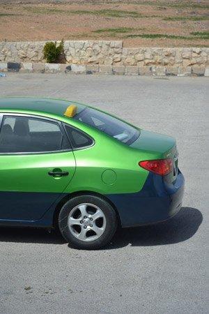 Official taxi of Aqaba
