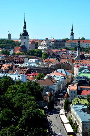 Tallinn cruise destination
