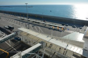 Cruise port Barcelona