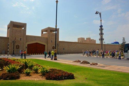 Al Husn Palace in Salalah