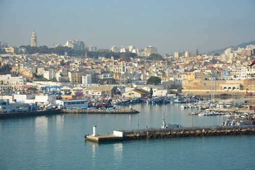 Tangier cruise port