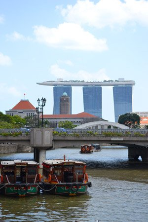 Cruise destination Singapore