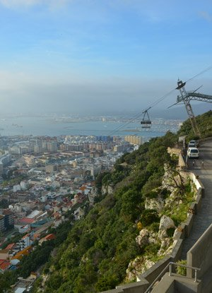 Gibraltar cruise destination - docking information, transportation options