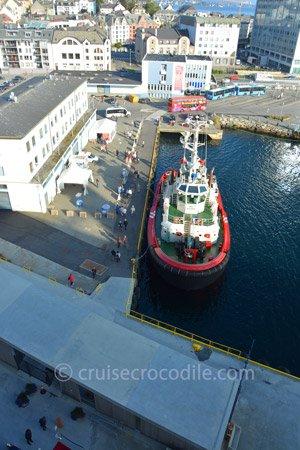 Cruise port Alesund