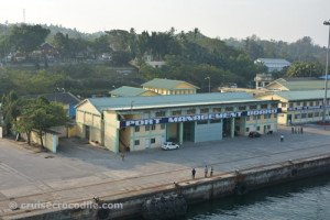 Port Blair Cruise dock