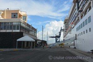 Cruise port Cadiz