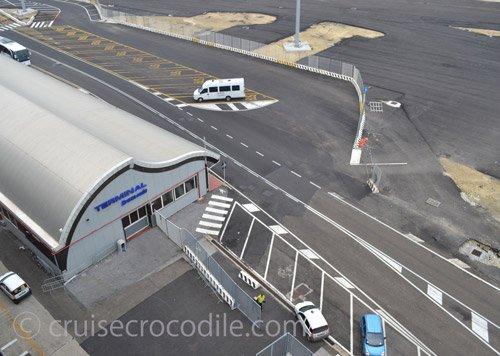 Cruise port guide civitavecchia italy by cruise crocodile - Port of civitavecchia cruise terminal ...