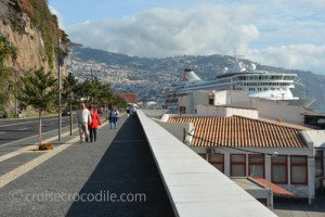 Funchal docking locations