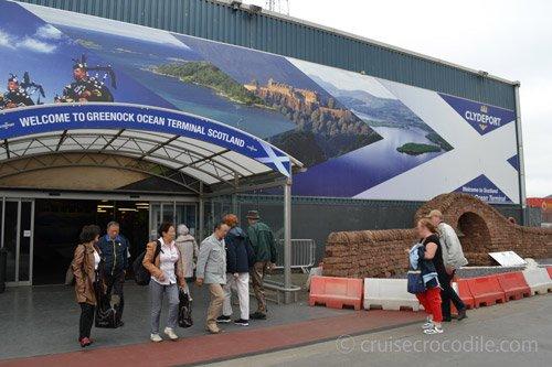 Cruise Port Guide Greenock Scotland By Cruise Crocodile - Cruise ships at greenock