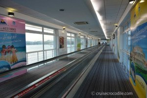 Wi-fi at cruise terminal Singapore