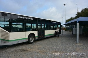 Shuttle service in cruise port of Leixoes