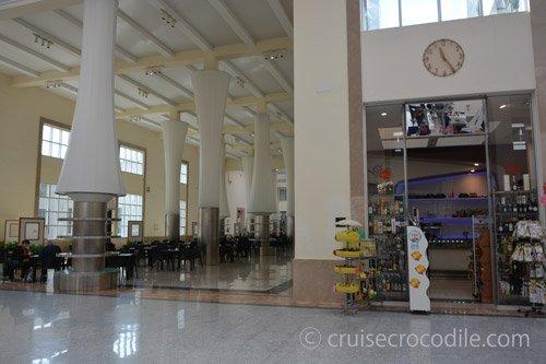 Cruise Terminal Naples Has Several Facilities