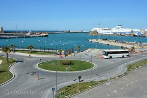 Port shuttle bus Civitavecchia