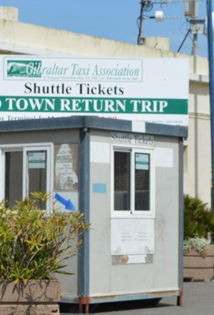 Cruise port shuttle service Gibraltar