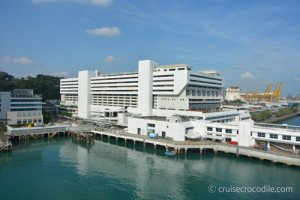 Singapore Harbour front cruise terminal