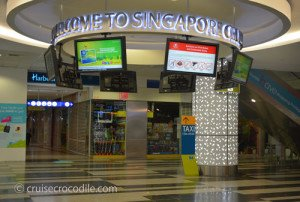 Harbour front cruise terminal Singapore