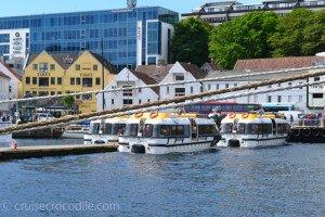 Tender pier in Stavanger