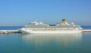 Cruise dock Tangier