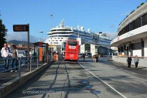 Cruise port Bergen, Norway