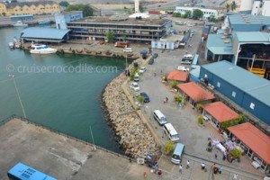 Port of Colombo cruise dock