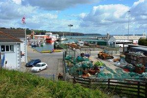 Tender port of Dunmore East