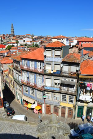 Cruise destination Leixoes, Porto