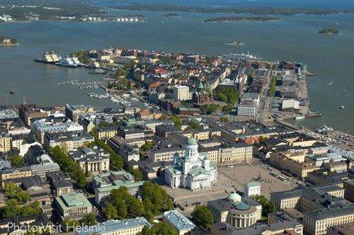 Cruising Helsinki