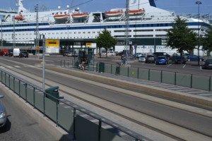 Cruise Terminal public transportation Helsinki