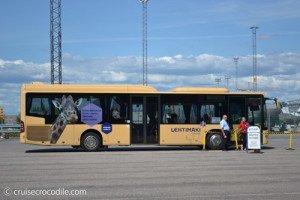Cruise shuttle bus Helsinki
