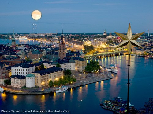 Cruise-Stockholm-bynight