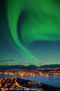 Cruise destination Tromso