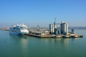 Cruise Port Dock Southampton