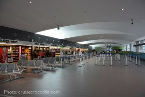 Malaga Cruise Terminal building