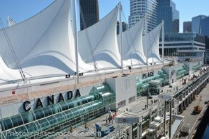 Canada Place cruise terminal Vancouver