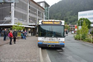 Juneau City Bus to Mendenhall
