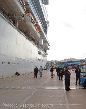 Cruise-Kusadasi-dock-cruise-crocodile