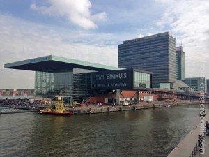 Amsterdam Cruise Terminal dock