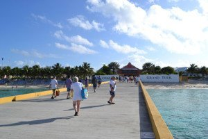 Cruise dock: Welcome to Grand turk""