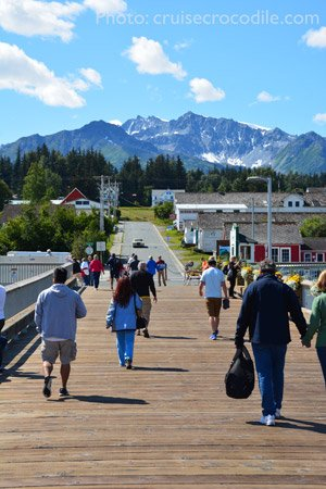 Haines-Cruise-pier-town