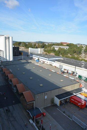 Cruise port of Kristiansand