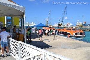 Georgetown cruise tender platform