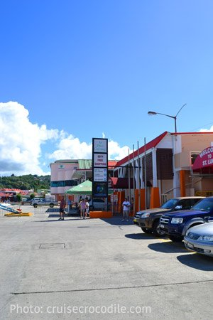 Castries-cruise-terminal